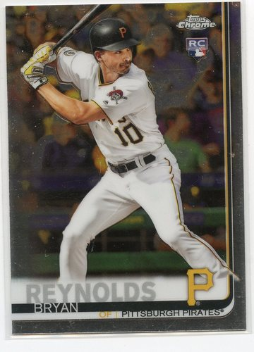 Photo of 2019 Topps Chrome Update #29 Bryan Reynolds Rookie Card