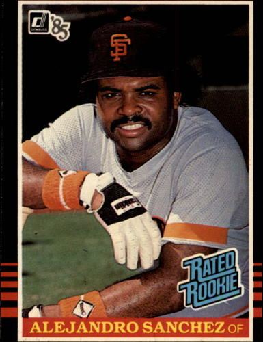 Photo of 1985 Donruss #43 Alejandro Sanchez RC