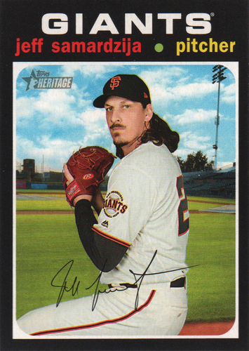 Photo of 2020 Topps Heritage #399 Jeff Samardzija