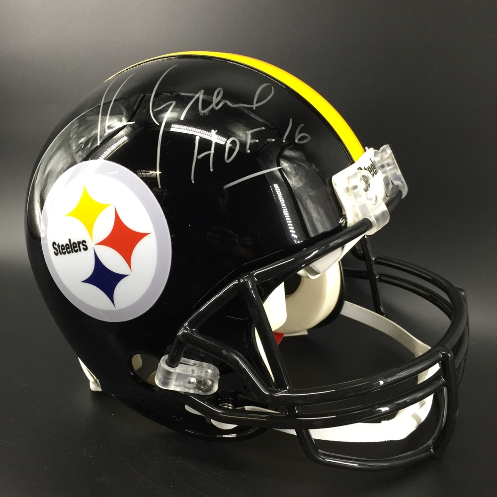 HOF - Steelers Kevin Greene Signed Proline Helmet