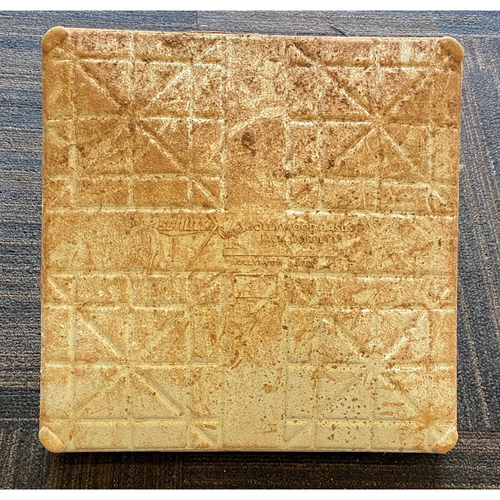 Photo of Game-Used Base - Atlanta Braves at Baltimore Orioles (9/16/2020)