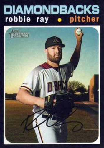 Photo of 2020 Topps Heritage #431 Robbie Ray SP