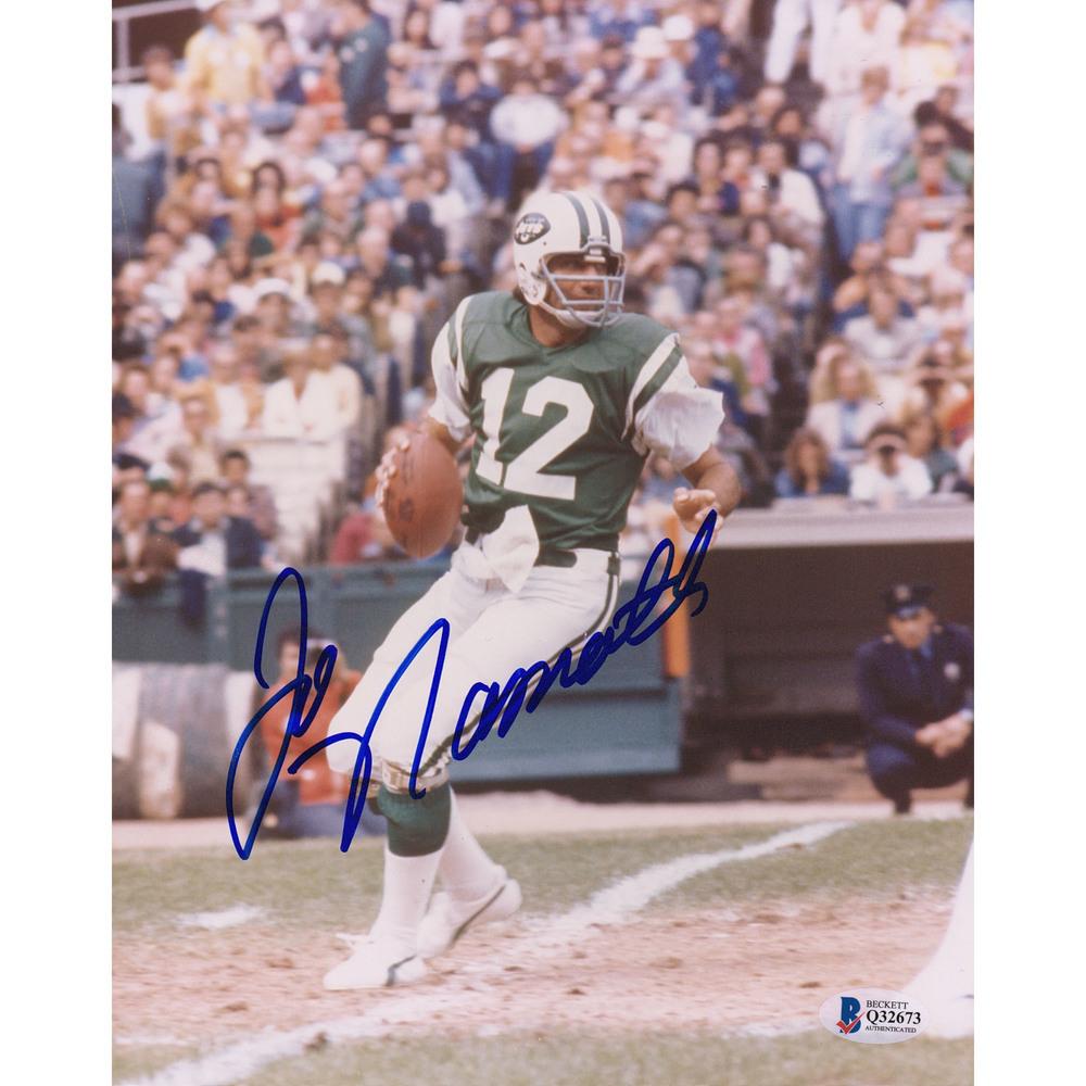 Joe Namath New York Jets 8