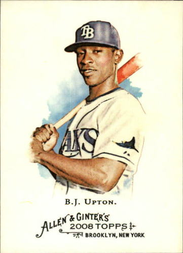 Photo of 2008 Topps Allen and Ginter #15 B.J. Upton
