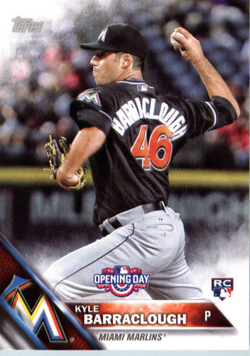 Photo of 2016 Topps Opening Day #OD151 Kyle Barraclough RC
