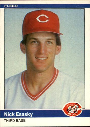 Photo of 1984 Fleer #468 Nick Esasky