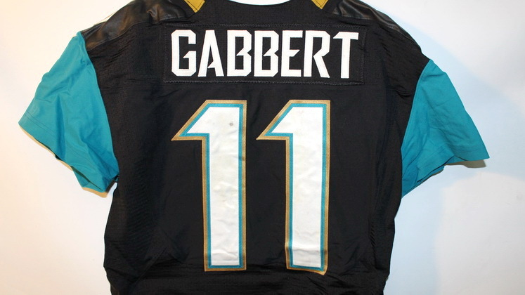 NFL Auction | INTERNATIONAL SERIES JAGUARS BLAINE GABBERT GAME ...