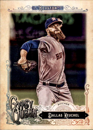 Photo of 2017 Topps Gypsy Queen #178 Dallas Keuchel