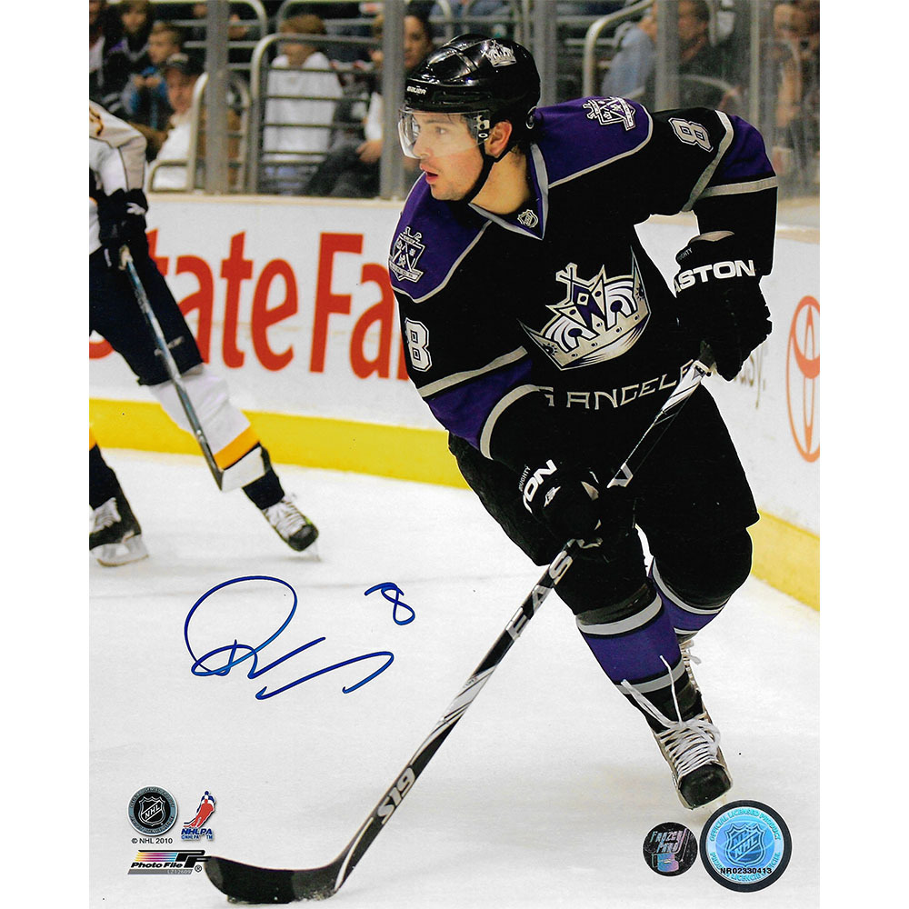 Drew Doughty Autographed Los Angeles Kings 8X10 Photo