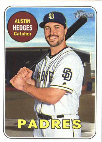 Photo of 2018 Topps Heritage #374 Austin Hedges