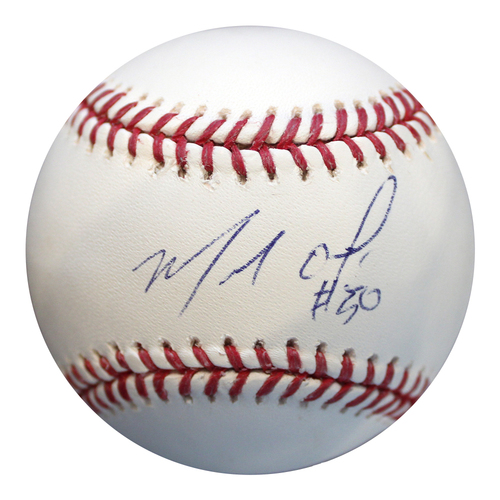 Photo of Autographed Baseball: Miguel Almonte