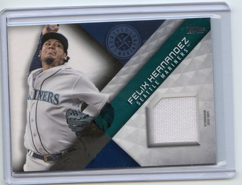 Photo of 2018 Topps Major League Materials #MLMFH Felix Hernandez S2