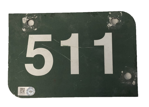 Photo of Wrigley Field Collection -- Aisle Marker 511 -- Removed after 2018 Season