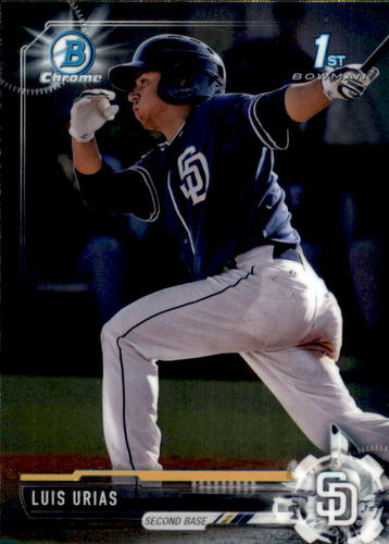 Photo of 2017 Bowman Chrome Prospects #BCP107 Luis Urias