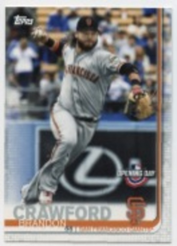 Photo of 2019 Topps Opening Day #199 Brandon Crawford