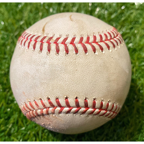 Photo of Game-Used Baseball: Francisco Lindor 768th Career Hit (7/26/19 - CLE @ KC)