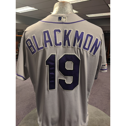 Photo of Colorado Rockies 2019 Game-Used Jersey: Charlie Blackmon
