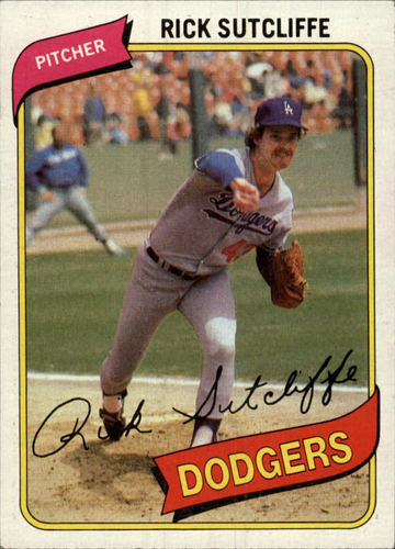 Photo of 1980 Topps #544 Rick Sutcliffe RC