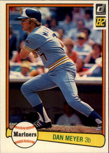Photo of 1982 Donruss #176 Dan Meyer