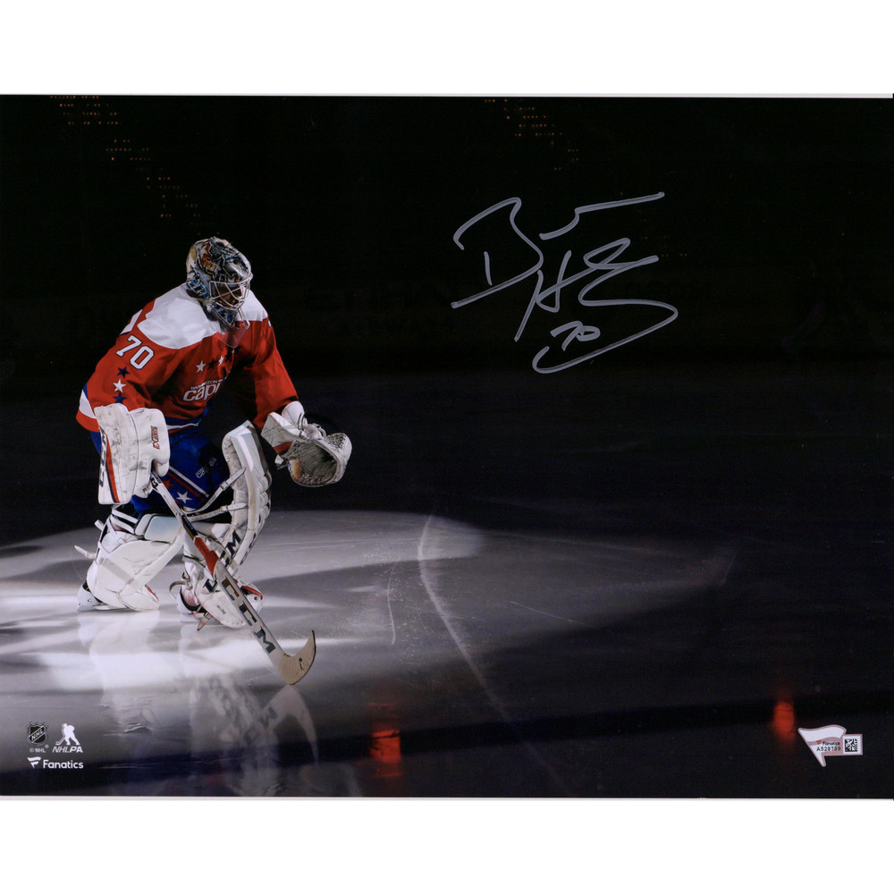 Braden Holtby Washington Capitals Autographed 11