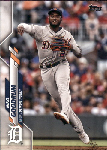 Photo of 2020 Topps #105 Niko Goodrum