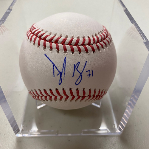 Photo of Autographed Baseball - Tyler Rogers