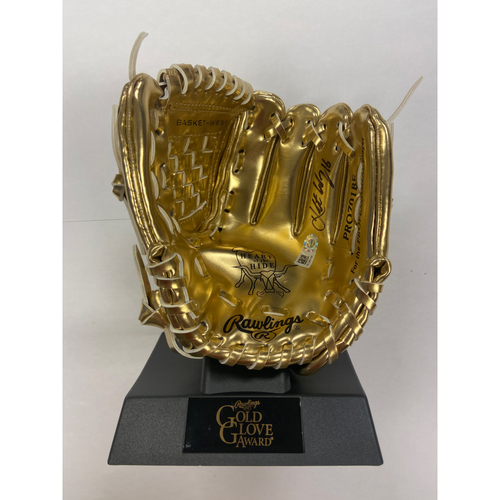 Photo of Cardinals Authentics: Kolten Wong Autographed Mini Gold Glove