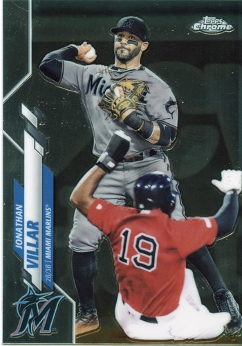 Photo of 2020 Topps Chrome #75 Jonathan Villar