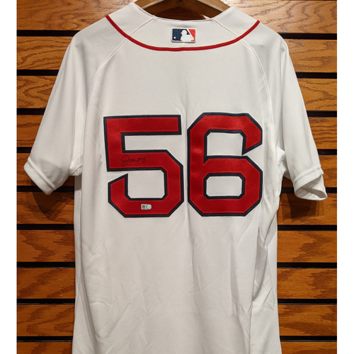 Photo of Joe Kelly #56 Autographed Home White Jersey
