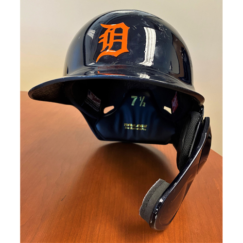 Photo of #24 Detroit Tigers Team-Issued 2020 Road Batting Helmet (MLB AUTHENTICATED)