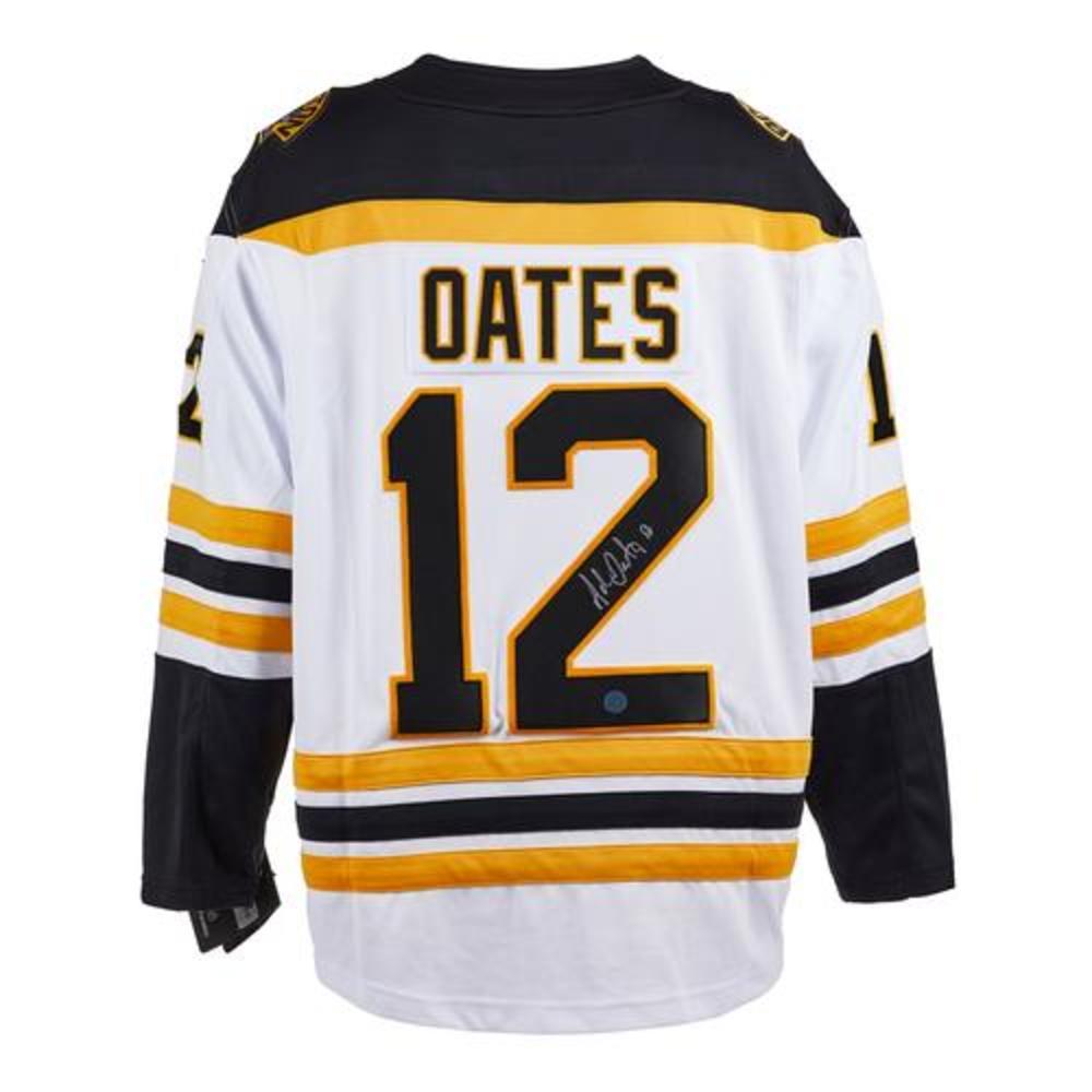 Adam Oates Boston Bruins Signed White Fanatics Jersey