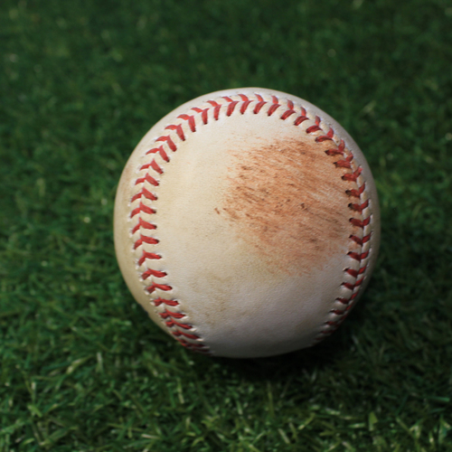 Photo of Game-Used Baseball: Buck Farmer 253rd Career Strikeout (DET@KC 9/24/20)