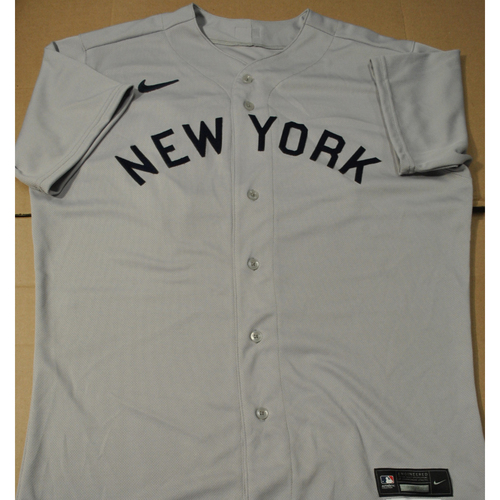 Photo of 2021 New York Yankees vs. Chicago White Sox in Dyersville, Iowa - Game-Used 1919 Throwback Jersey - Lucas Luetge - Size 46