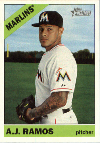 Photo of 2015 Topps Heritage #646 A.J. Ramos