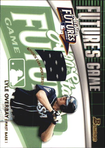 Photo of 2003 Bowman Futures Game Gear Jersey Relics #LO Lyle Overbay