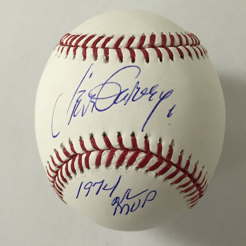 "Photo of Steve Garvey Autographed ""1974 NL MVP"" Baseball"