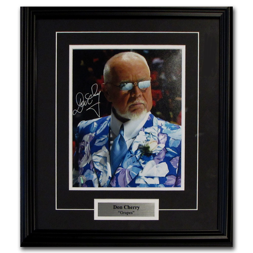 Don Cherry Autographed Framed 8X10 Photo