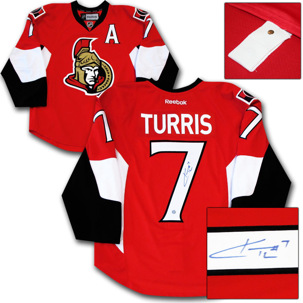 Kyle Turris Autographed Ottawa Senators Authentic Pro Jersey