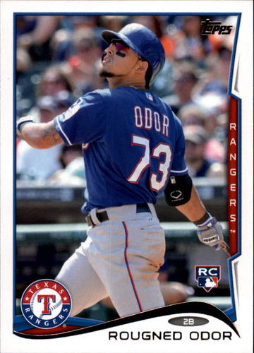 Photo of 2014 Topps Update #US276 Rougned Odor  Rookie Card