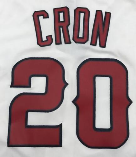 Photo of CJ Cron Unsigned Replica Angels Jersey - Adult Large