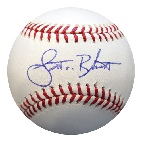 Photo of Autographed Baseball: Scott Blewett