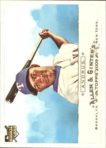 Photo of 2009 Topps Allen and Ginter #89 Elvis Andrus Rookie Card