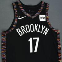 Ed Davis - Brooklyn Nets - Game-Worn City Edition Jersey - 2018-19 Season