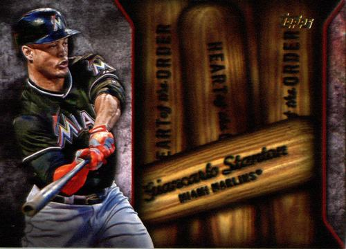 Photo of 2015 Topps Heart of the Order #HOR10 Giancarlo Stanton