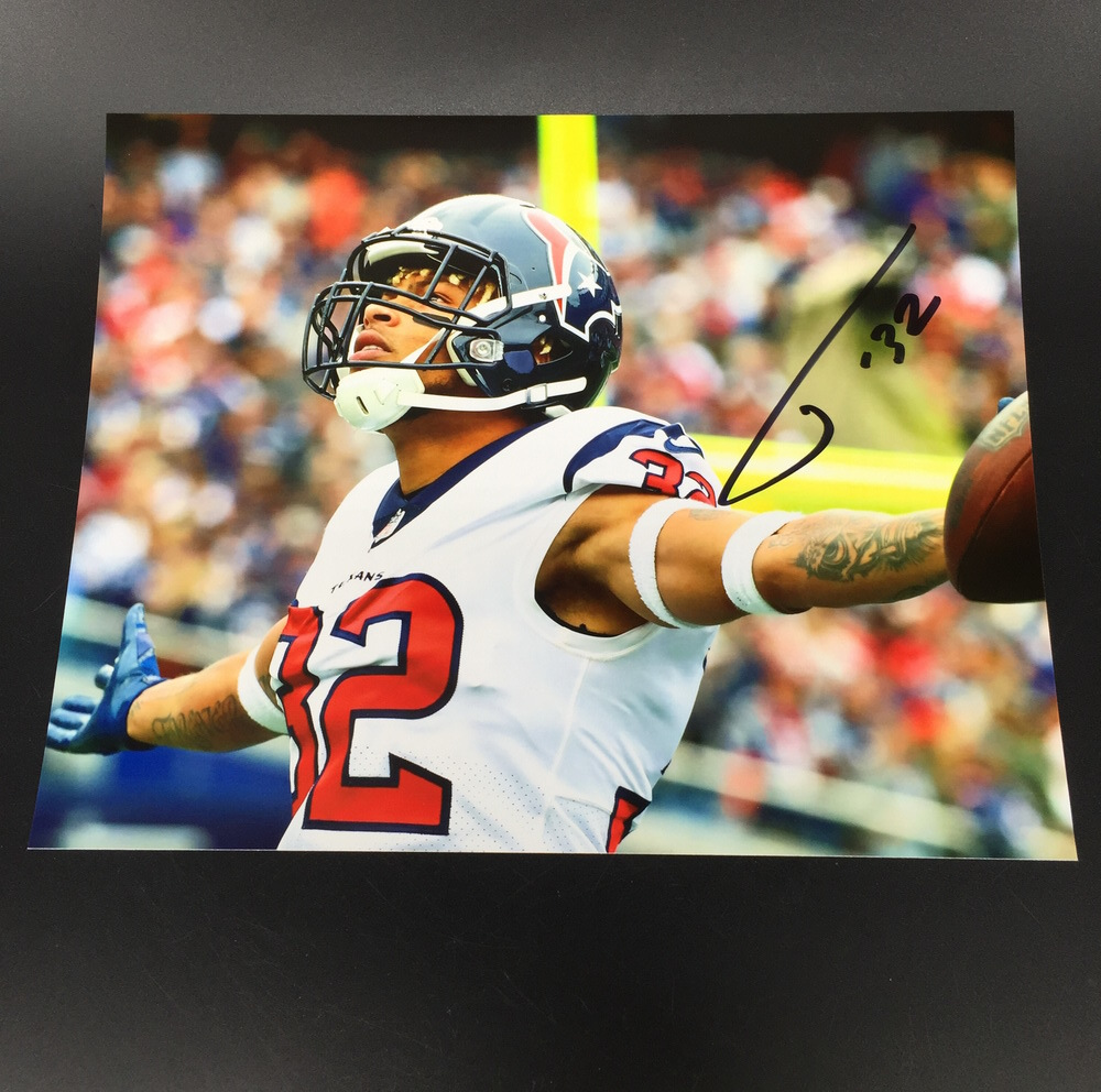 Texans - Tyrann Mathieu Signed 8x10 photo