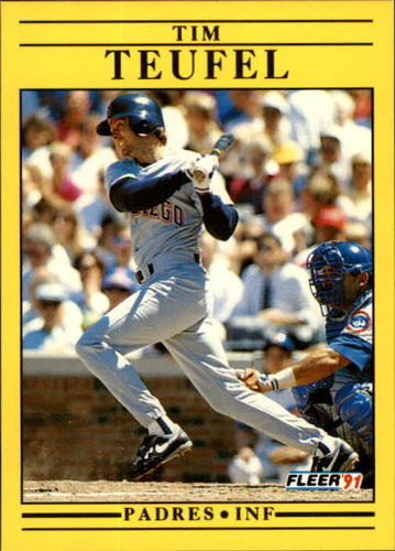 Photo of 1991 Fleer Update #127 Tim Teufel