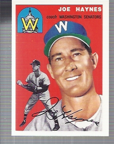 Photo of 1994 Topps Archives '54 #223 Joe Haynes CO