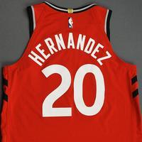 Dewan Hernandez - Toronto Raptors - Game-Issued Icon Edition Jersey - NBA Japan Games - 2019-20 NBA Season