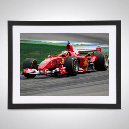 Photo of Mick Schumacher 2019 Ferrari Test Germany - James Moy Print