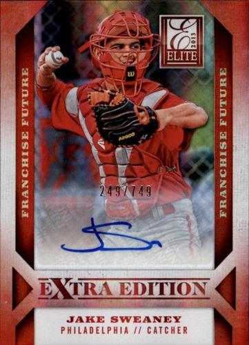 Photo of 2013 Elite Extra Edition Franchise Futures Signatures #23 Jake Sweaney/749
